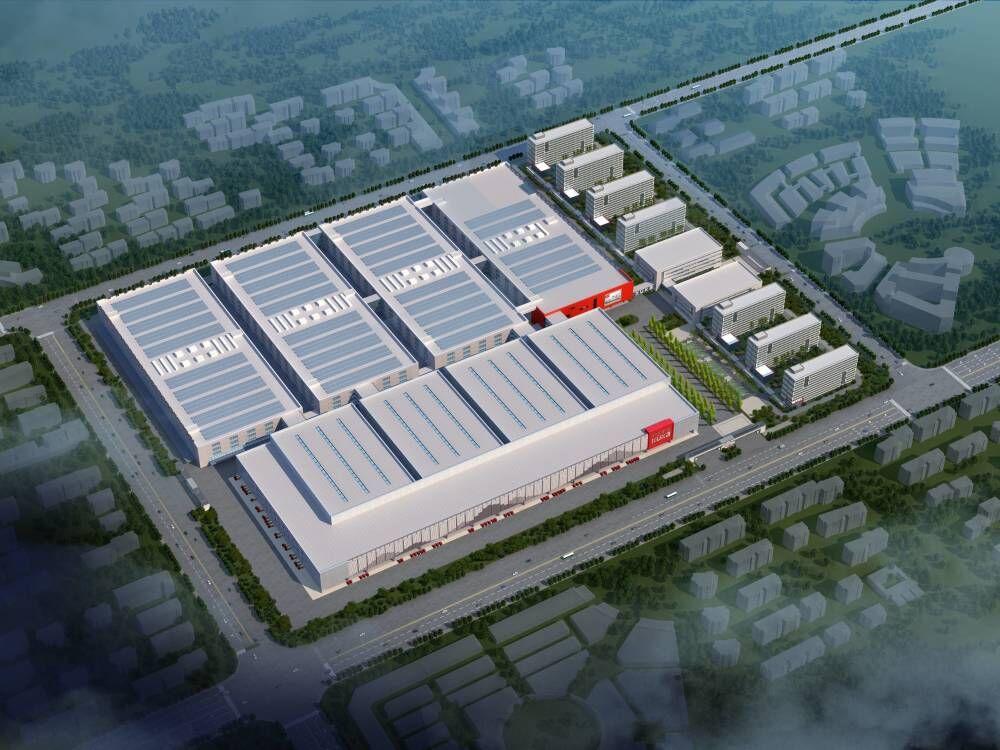 顾家家居华中(黄冈)基地项目施工总承包一期二标段(建筑面积约130000平方米)